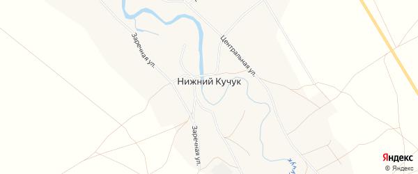 Карта села Нижнего Кучука в Алтайском крае с улицами и номерами домов