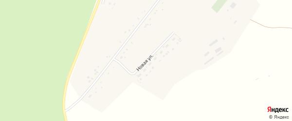 Новая улица на карте поселка Мельниковки с номерами домов
