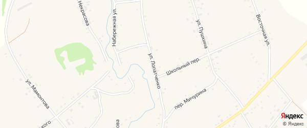 Набережная улица на карте села Верх-Суетки с номерами домов