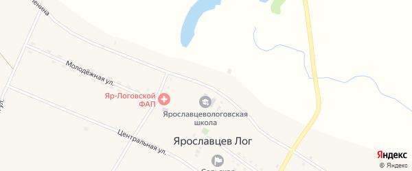 Улица Ленина на карте села Ярославцева Лога с номерами домов