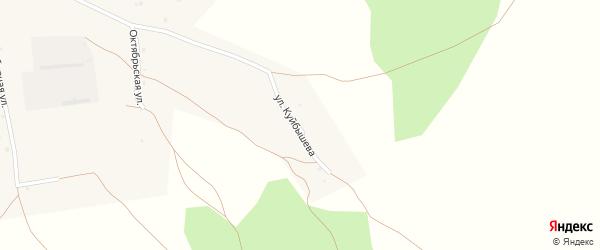 Улица Куйбышева на карте села Бора-Форпоста с номерами домов