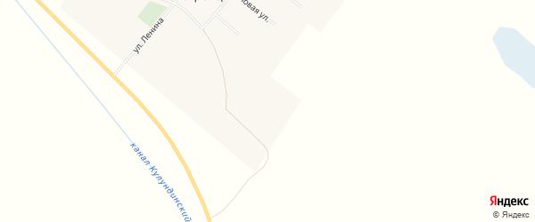 Карта поселка Новотроицка в Алтайском крае с улицами и номерами домов