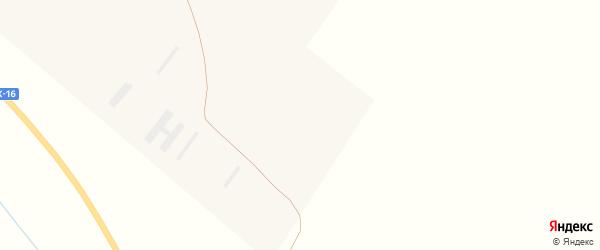 Новая улица на карте поселка Новотроицка с номерами домов