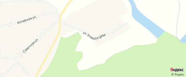 Улица Усадьба ЦРМ на карте села Велижанки с номерами домов
