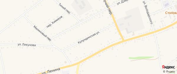 Кулундинская улица на карте села Родино с номерами домов