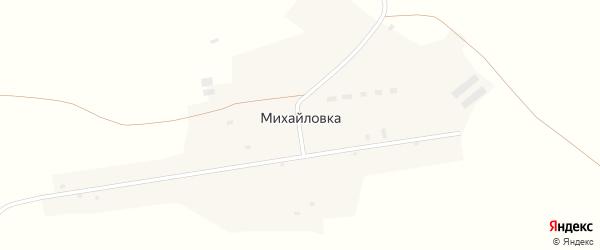 Улица Р.Люксембург на карте поселка Михайловки с номерами домов
