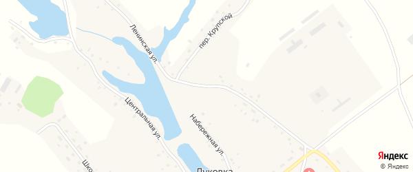 Ленинская улица на карте села Луковки с номерами домов