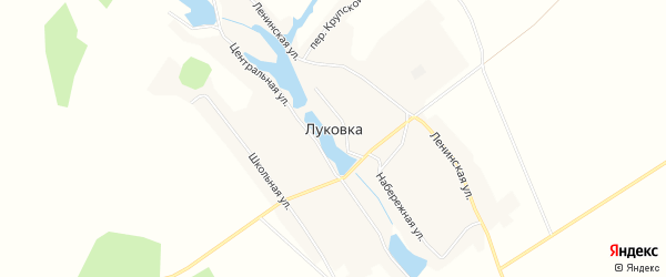 Карта села Луковки в Алтайском крае с улицами и номерами домов