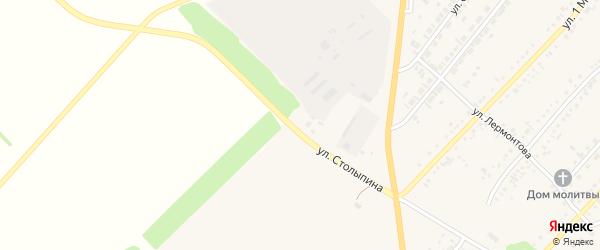 Улица Столыпина на карте села Волчихи с номерами домов