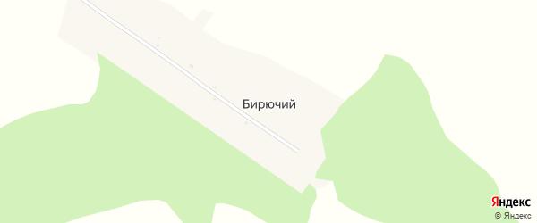 Центральная улица на карте Бирючьего поселка с номерами домов