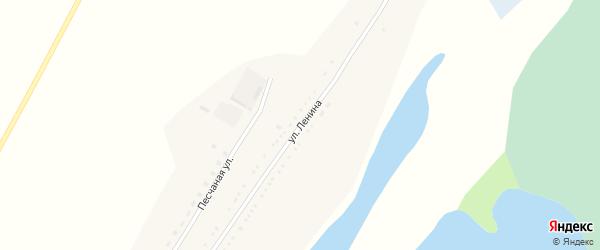 Улица Ленина на карте села Озерно-Кузнецово с номерами домов