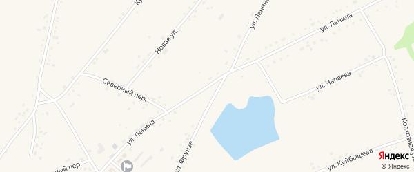 Улица Ленина на карте села Леньки с номерами домов