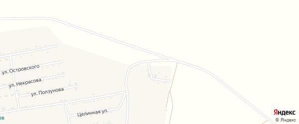 Нефтебазовская улица на карте поселка Степного Озера с номерами домов