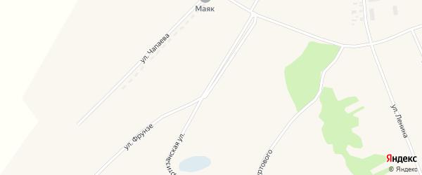 Партизанская улица на карте села Кочки с номерами домов