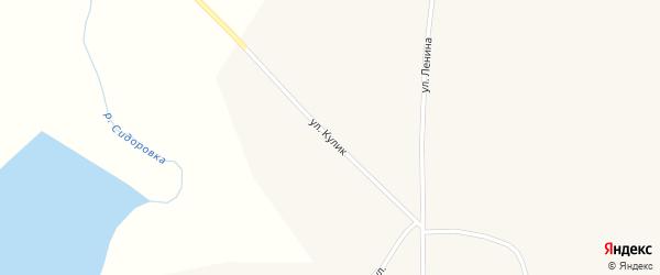 Улица М.К.Кулик на карте села Кочки с номерами домов