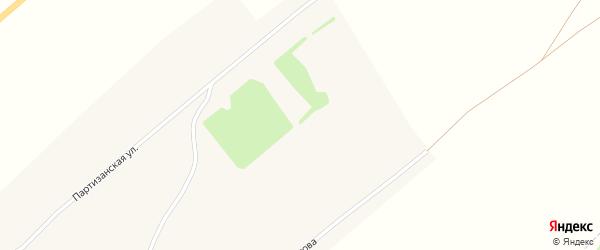 Молодежная улица на карте Приборового села с номерами домов