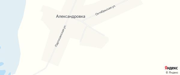 Карта села Александровки в Алтайском крае с улицами и номерами домов
