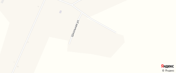 Октябрьская улица на карте села Александровки с номерами домов