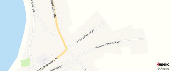 Молодежная улица на карте села Плотавы с номерами домов