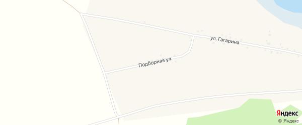 Подборная улица на карте Волчна-Бурлинского села с номерами домов