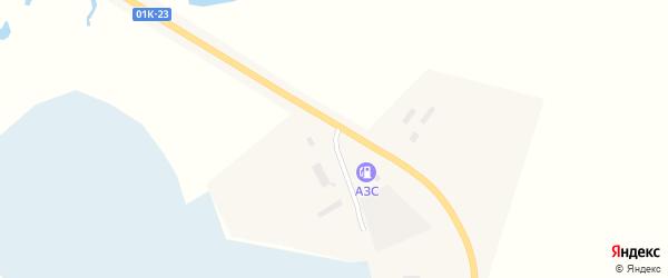 Партизанская улица на карте села Баево с номерами домов