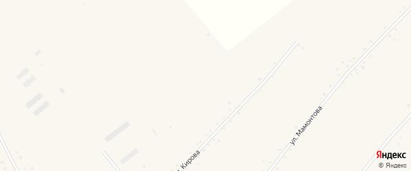 Улица им Кирова на карте села Солоновки с номерами домов