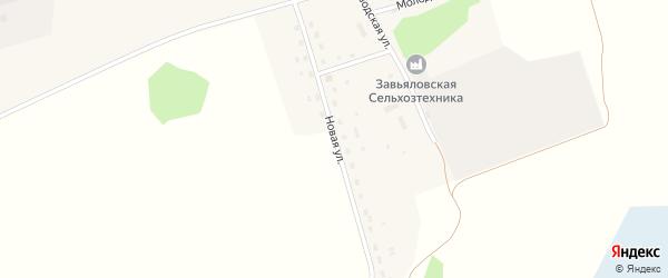 Новая улица на карте Малиновского поселка с номерами домов