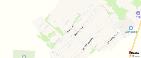 Новая улица на карте села Завьялово с номерами домов