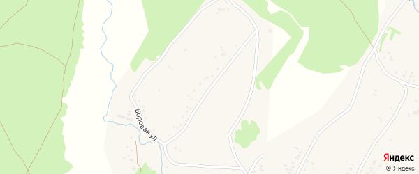 Боровая улица на карте Новоегорьевского села с номерами домов