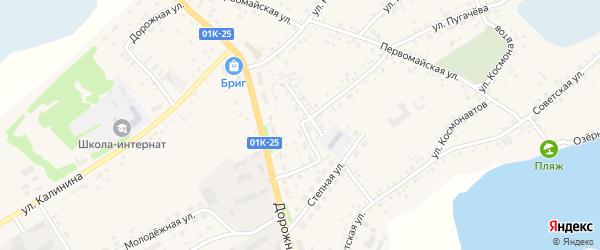 Партизанская улица на карте села Завьялово с номерами домов