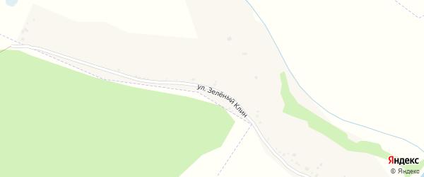 Улица Зеленый Клин на карте села Малышева Лога с номерами домов