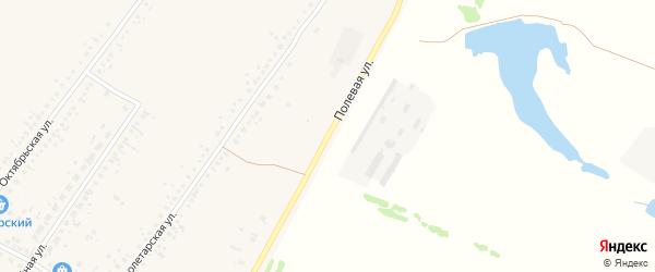 Полевая улица на карте Новоегорьевского села с номерами домов