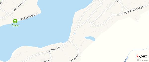 Улица Ленина на карте села Завьялово с номерами домов