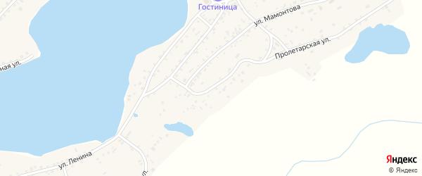 Пролетарская улица на карте села Завьялово с номерами домов
