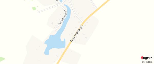 Трактовая улица на карте Толстовского поселка с номерами домов