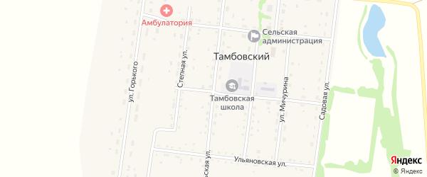Уральская улица на карте Тамбовского поселка с номерами домов