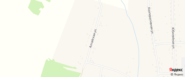 Алтайская улица на карте Закладного села с номерами домов