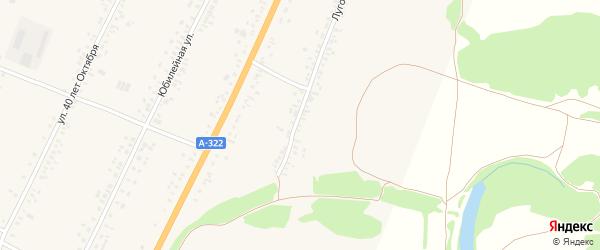 Луговая улица на карте садового некоммерческого товарищества N 16 с номерами домов