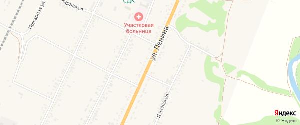 Улица Ленина на карте села Веселоярска с номерами домов