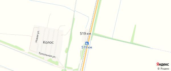 Карта казармы 519 км в Алтайском крае с улицами и номерами домов