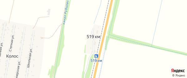 Путевая улица на карте казармы 519 км с номерами домов