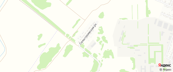 Сельстроевская улица на карте Рубцовска с номерами домов