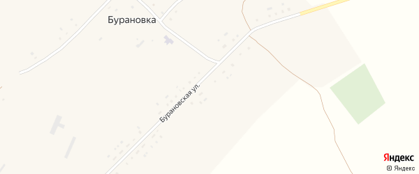 Бурановская улица на карте поселка Бурановки с номерами домов