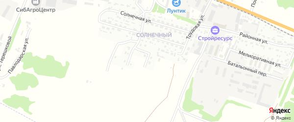 Ковыльная улица на карте Рубцовска с номерами домов