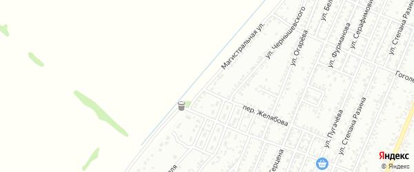 Магистральная улица на карте Рубцовска с номерами домов