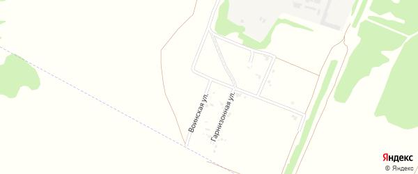 Воинская улица на карте Рубцовска с номерами домов