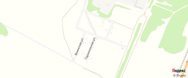Гарнизонная улица на карте Рубцовска с номерами домов