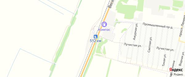 Карта станции Железнодорожная Казарма 512 км в Алтайском крае с улицами и номерами домов
