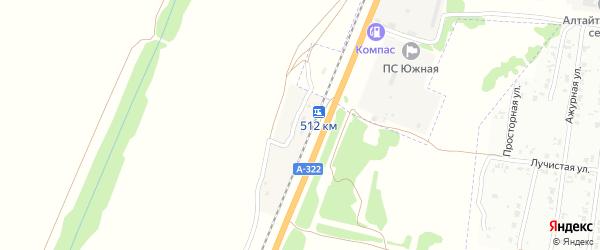 Путевая улица на карте станции Железнодорожная Казарма 512 км с номерами домов