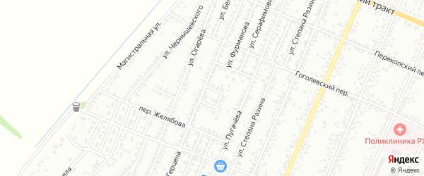 Сквер Юных Пионеров на карте Рубцовска с номерами домов